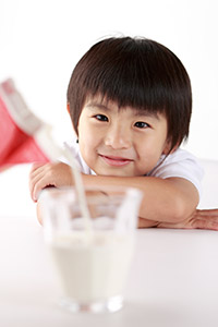 Child with Milk